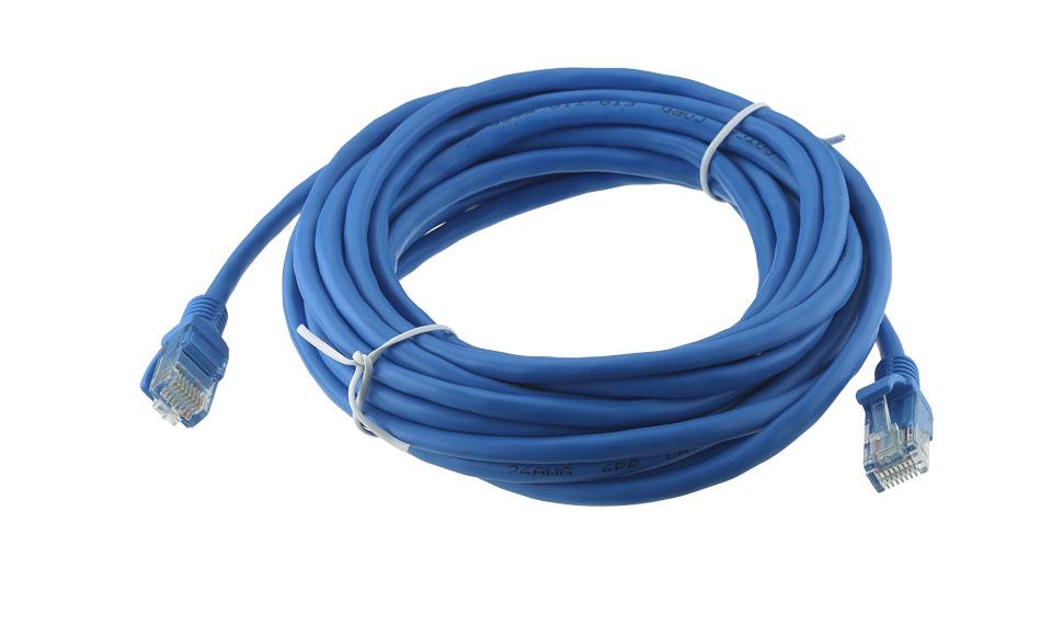 Cavo Ethernet Rete UTP Cat5E 5 metri 5mt PROLUNGA LAN RJ45 PATCH Router ADSL