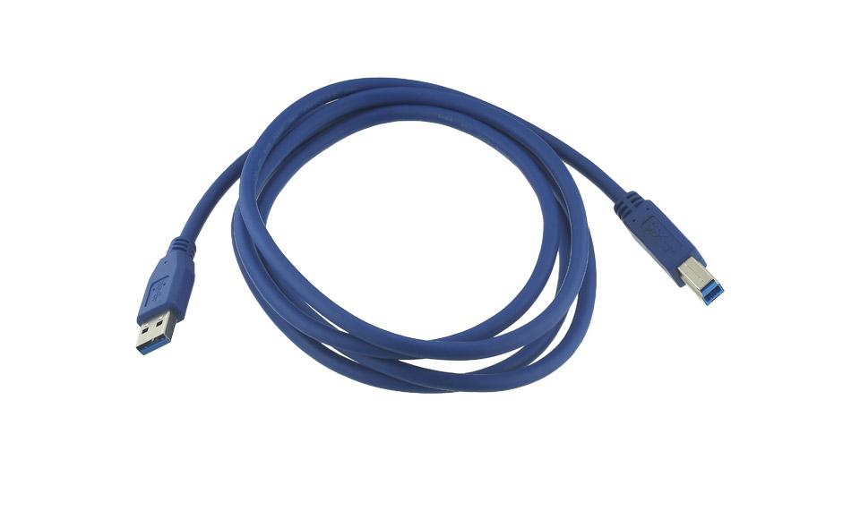 Cavo Stampante USB 3.0 [USB3 tipo A maschio > USB3 tipo B maschio] 1,8 metri