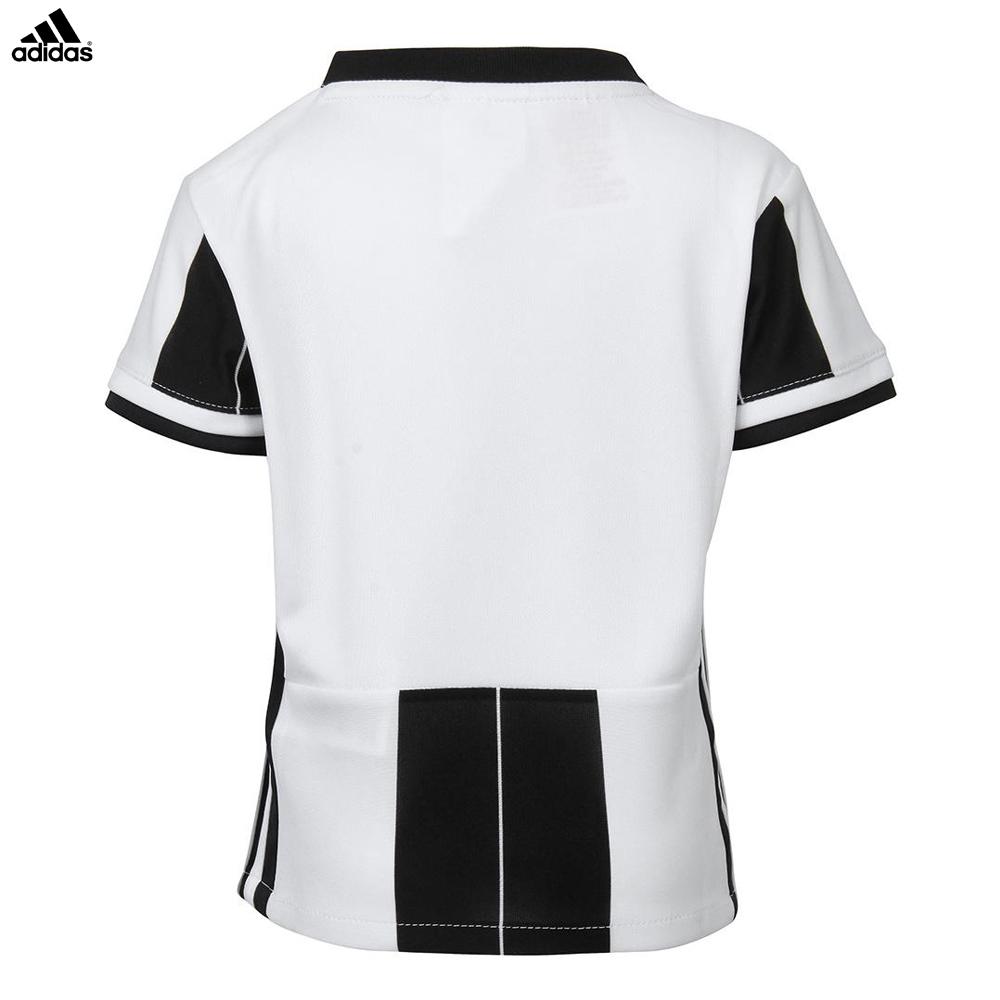 Dettagli su Juventus Baby Kit Home Maglia + Pantaloncini Campionato 2016 2017 Bambino