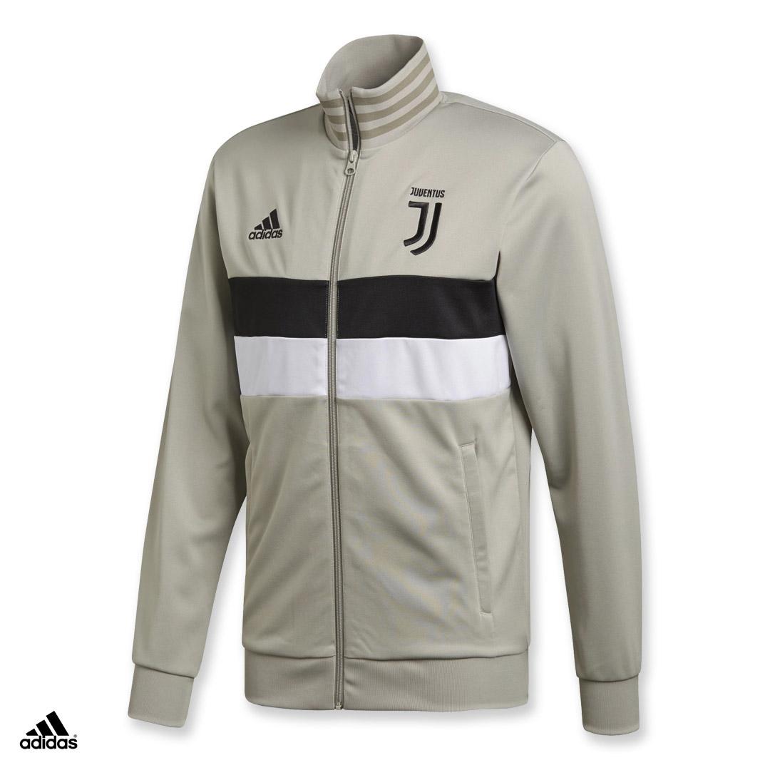 Dettagli su Juventus Giacca Track Top 3 Stripes adidas Juve 2018/19 Felpa Pile Allenamento