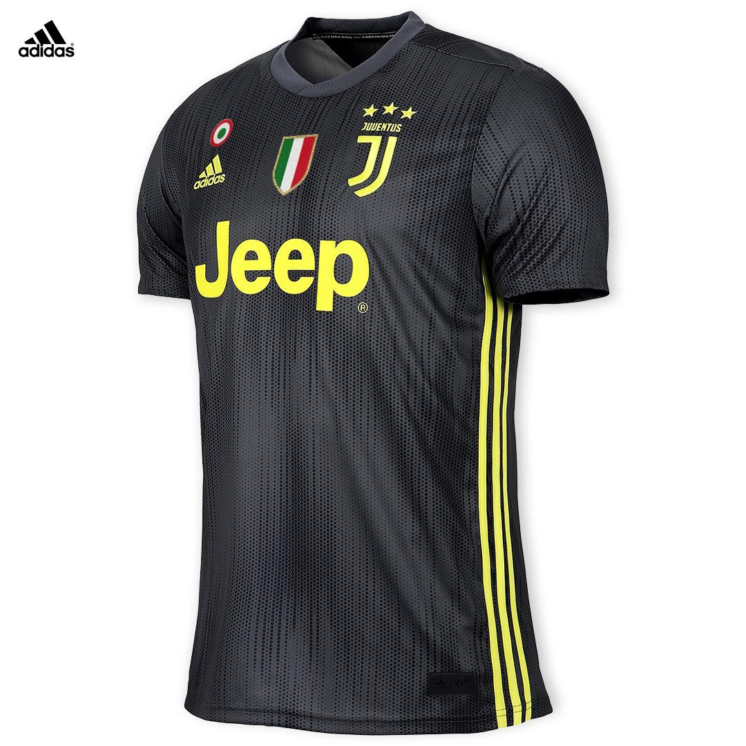 Juventus Maglia Cuadrado Gara THIRD  2018 19   Patch +Scudetto Coppa Italia hombres