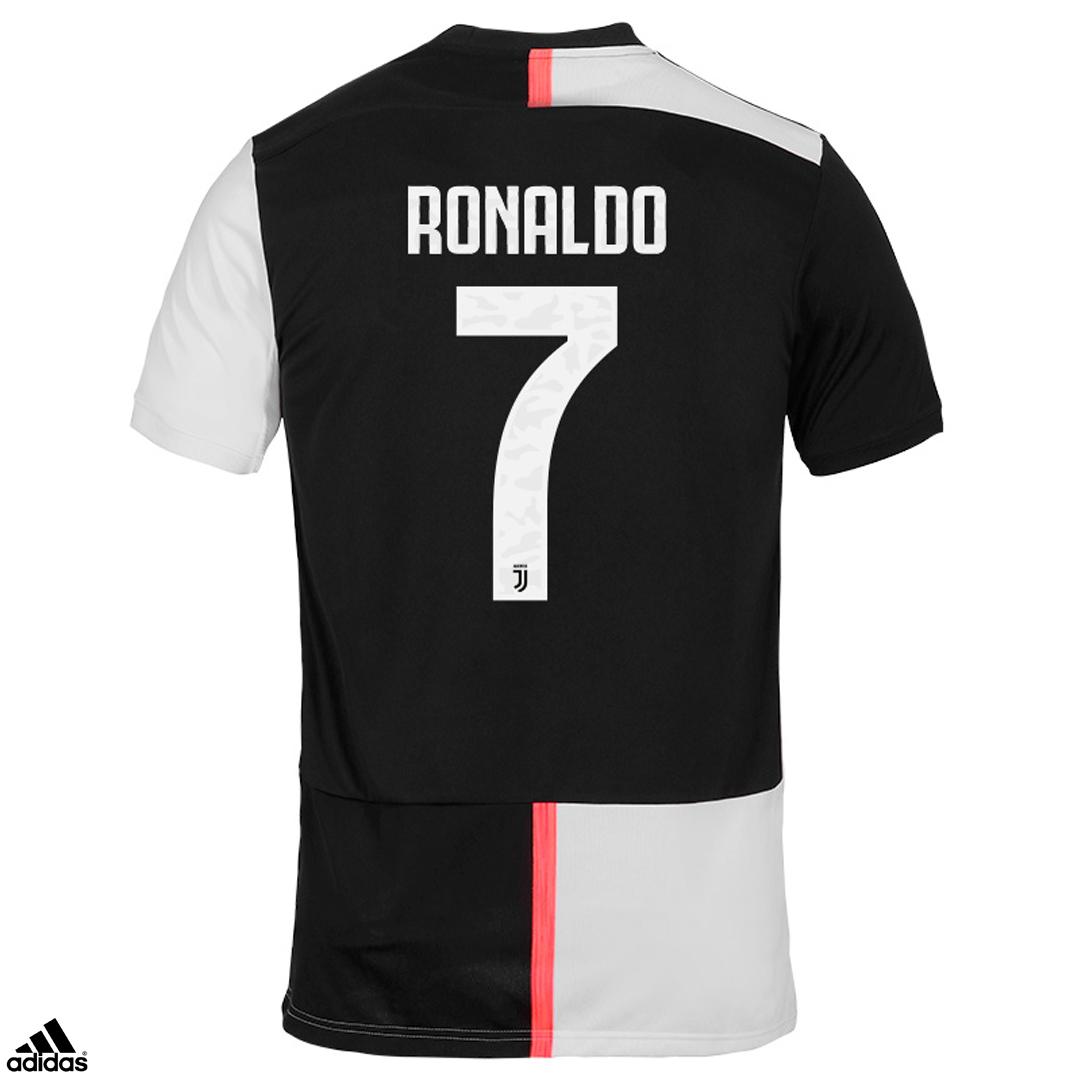 Nuova Maglia Juventus Home Ronaldo CR7 Campionato 2019/20 Scudetto ...
