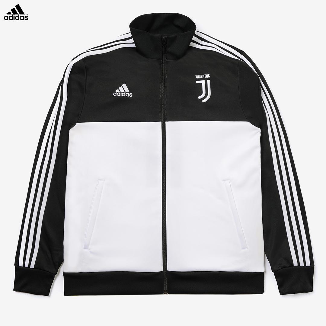 Dettagli su Juventus Felpa Allenamento 3 Stripes Campionato 201920 Uomo