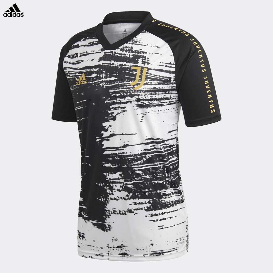 Juventus Maglia Pre-partita Allenamento Stagione 2020/21 adidas ...
