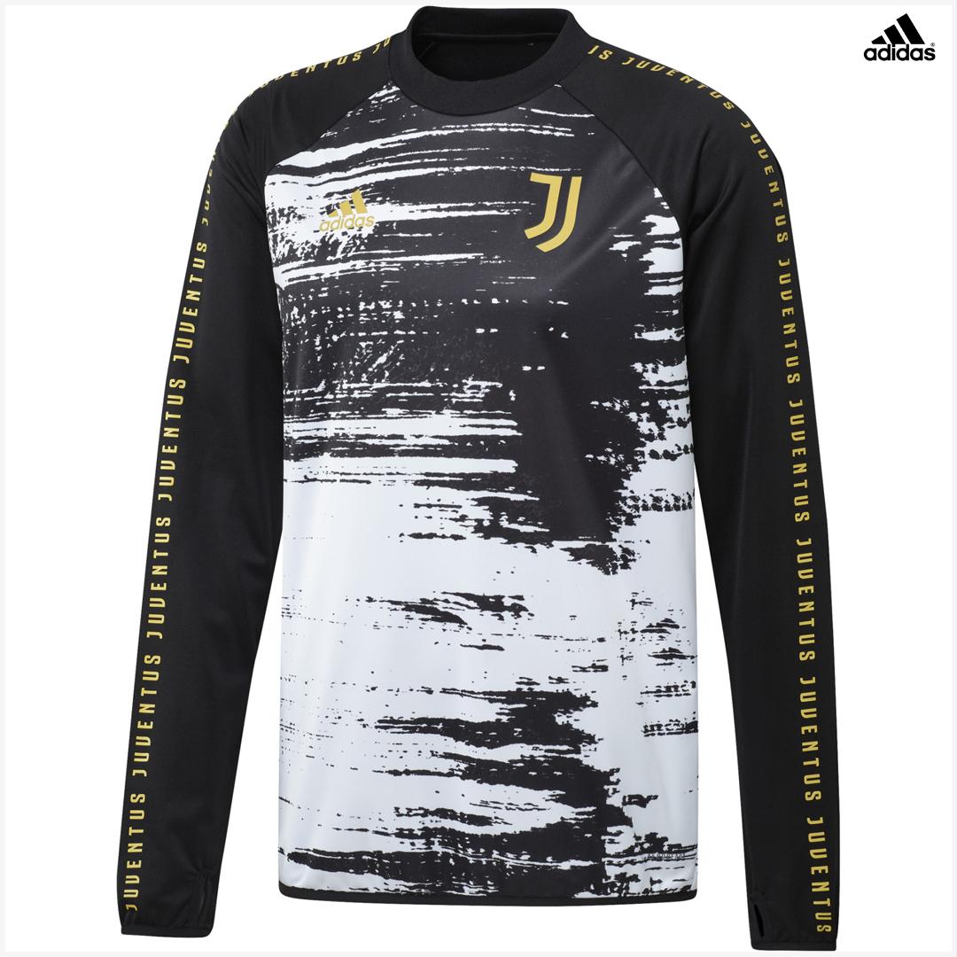Juventus Felpa Pile Pre-partita Allenamento 2020/21 adidas ...