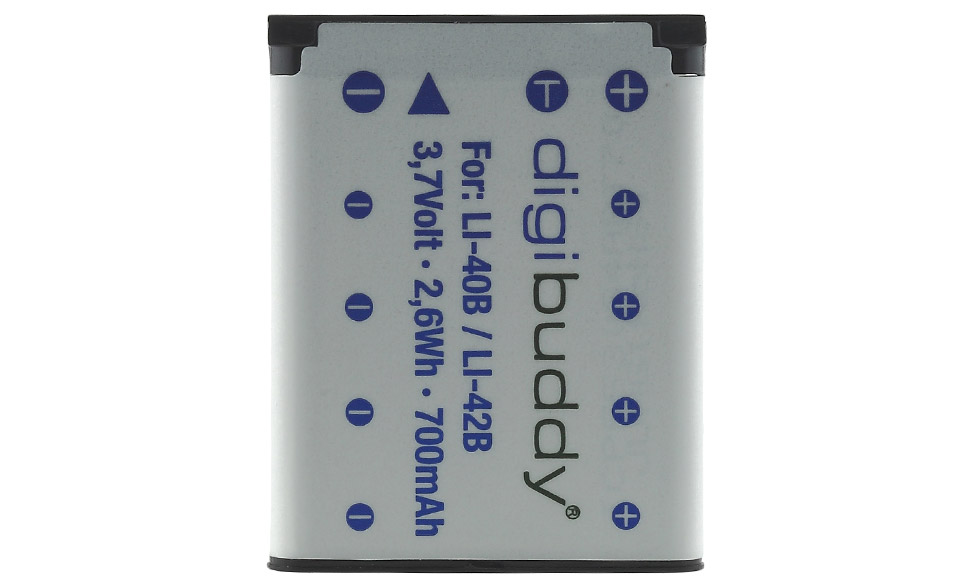 Batteria Alta Qualità per Olympus mju µ u 720 SW