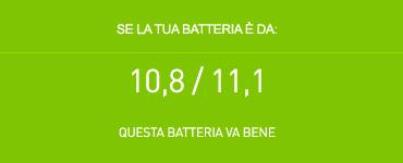 Batteria 10.8-11.1 volt per Acer controllo
